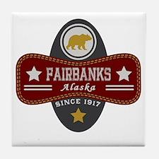 Fairbanks Nature Marquis Tile Coaster