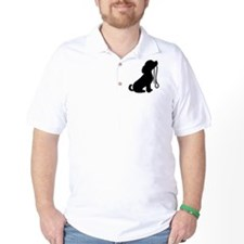 Dog and Leash T-Shirt