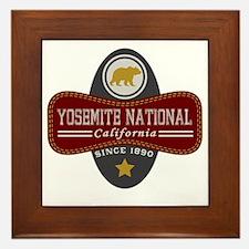 Yosemite Natural Marquis Framed Tile