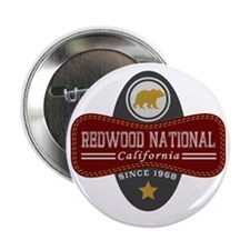 "Redwood Natural Marquis 2.25"" Button"