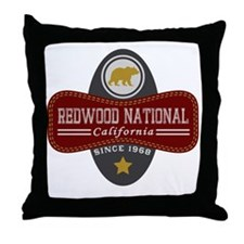 Redwood Natural Marquis Throw Pillow