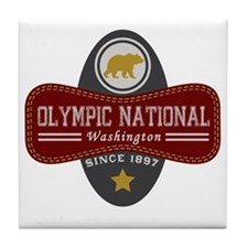 Olympic Natural Marquis Tile Coaster