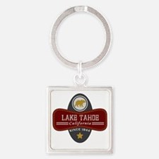 Lake Tahoe Nature Marquis Square Keychain