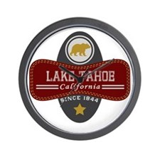 Lake Tahoe Nature Marquis Wall Clock