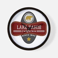 Lake Tahoe Nature Marquis Wall Clock