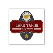 "Lake Tahoe Nature Marquis Square Sticker 3"" x 3"""