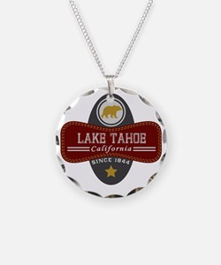 Lake Tahoe Nature Marquis Necklace