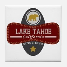 Lake Tahoe Nature Marquis Tile Coaster