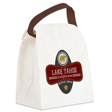 Lake Tahoe Nature Marquis Canvas Lunch Bag