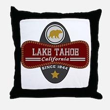 Lake Tahoe Nature Marquis Throw Pillow