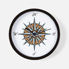 compass-rose5-LTT Wall Clock