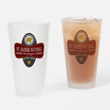 Mt. Rainier Natural Marquis Drinking Glass