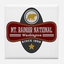 Mt. Rainier Natural Marquis Tile Coaster