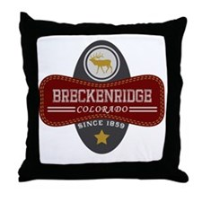 Breckenridge Natural Marquis Throw Pillow