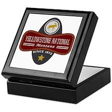 Yellowstone Natural Marquis Keepsake Box