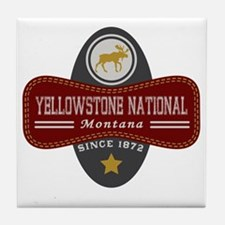 Yellowstone Natural Marquis Tile Coaster