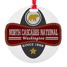 North Cascades Natural Marquis Ornament