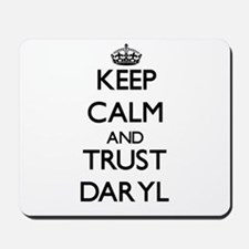 Keep Calm and TRUST Daryl Mousepad
