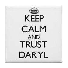 Keep Calm and TRUST Daryl Tile Coaster