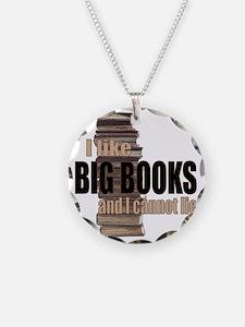 I like Big Books Necklace