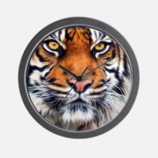 Siberian Tiger Male Wall Clock
