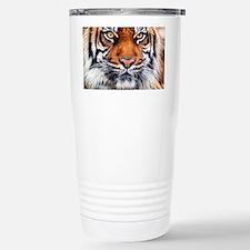 Siberian Tiger Male Stainless Steel Travel Mug