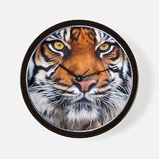 Siberian Tiger Male Wall Clock