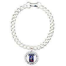 173rd Airborne Charm Bracelet, One Charm