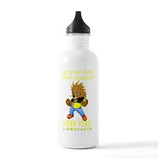 Leon On Black 01 Water Bottle