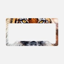 Male Siberian Tiger License Plate Holder