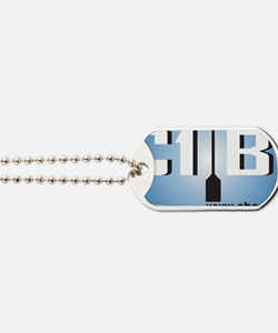c1b1 Rectangle Sticker Dog Tags
