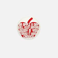 apple a day Mini Button