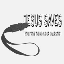 jesusrectangle Luggage Tag