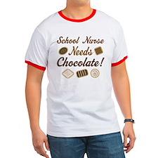 School Nurse Chocolate Gift T