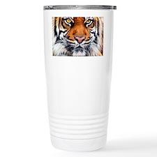Male Siberian Tiger Travel Coffee Mug