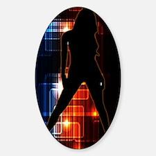 Femme Fatale | World Class Assassin Sticker (Oval)