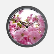 Spring time Cherry Blossoms Wall Clock