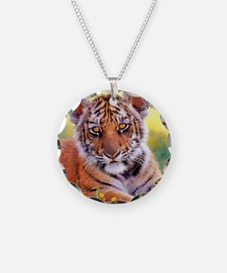 Tiger Baby Cub Necklace