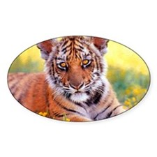 Tiger Baby Cub Decal