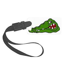 Gator Head Luggage Tag