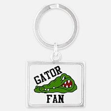Gator Fan Landscape Keychain