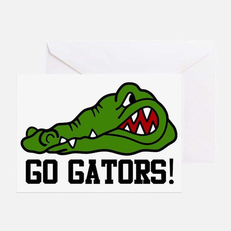Go Gator Greeting Card