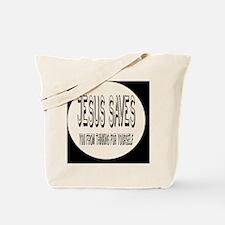 jesusbutton Tote Bag