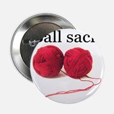 "Knitting 2.25"" Button"