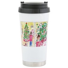 Cat Lady Rules - Happy  Travel Mug