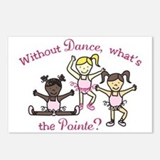 Whats The Pointe Postcards (Package of 8)