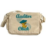 Auditor chick Messenger Bags & Laptop Bags