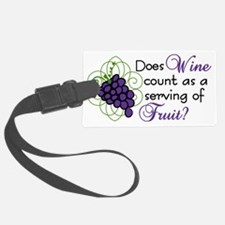 Does Wine Count Luggage Tag