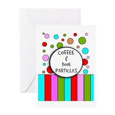 Coffee and bone Greeting Card