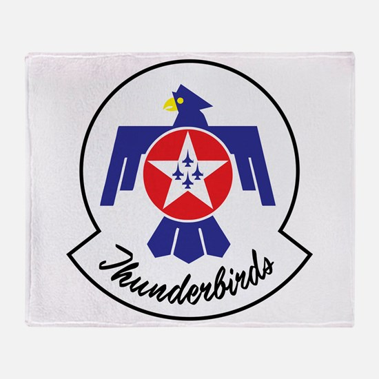 U.S. Air Force Thunderbirds Throw Blanket